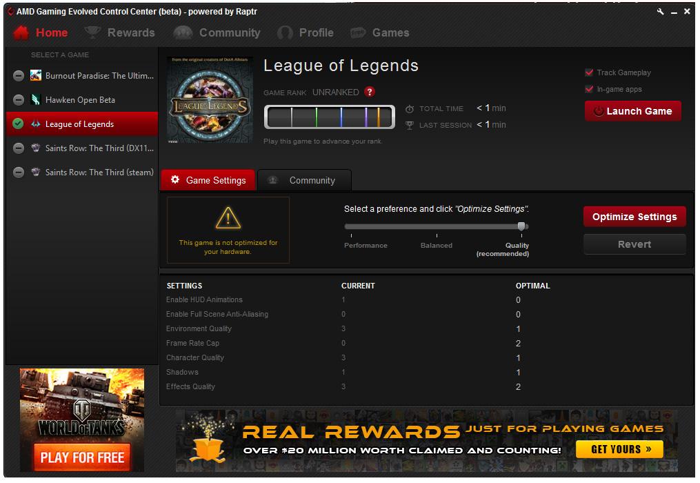 Ya disponible AMD Gaming Evolved App para optimizar automáticamente los juegos con gráficas Radeon Imagen