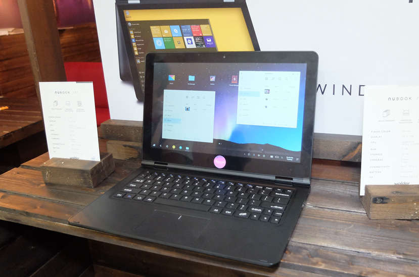 Wolder Nubook 10 and 11 with Remix OS, Convertible and Affordable