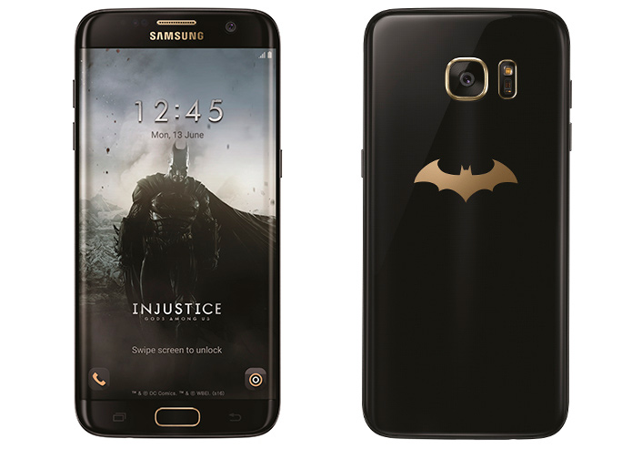Samsung se inspira en Batman para su Galaxy S7 Edge Injustice Edition, Imagen 1