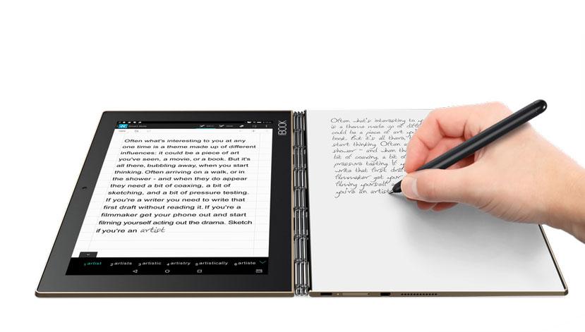 Lenovo se decanta por un teclado táctil en su nuevo convertible Yoga Book, Imagen 1