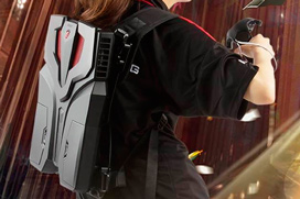 MSI presenta su PC-mochila para Realidad Virtual VR One