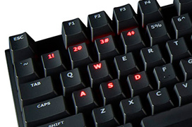 El teclado Kingston HyperX Alloy FPS integra teclas mecánicas Cherry MX Blue