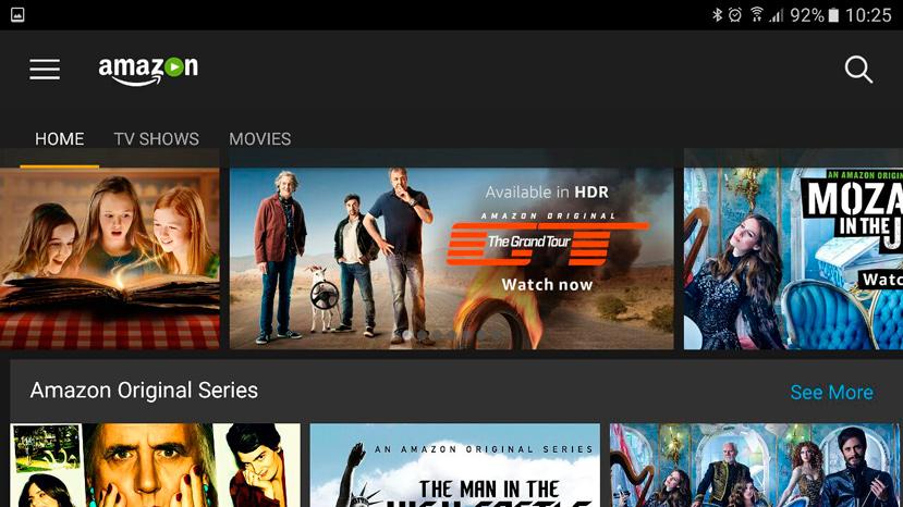 Amazon prime video wii españa