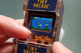 Tiny Arcade, una máquina recreativa en miniatura con SoC ARM