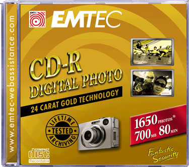 Guarda tus fotografías de por vida con EMTEC CD-R Digital Photo, Imagen 1