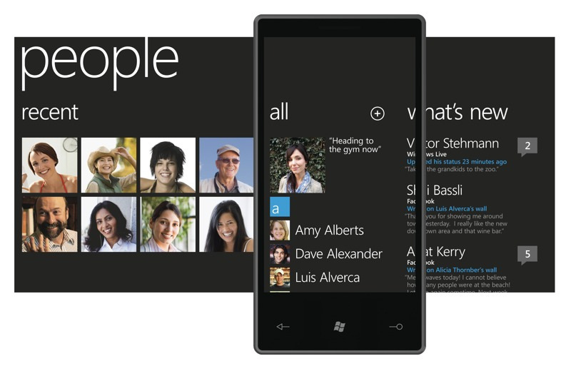 Windows Phone 7 Series, Imagen 1