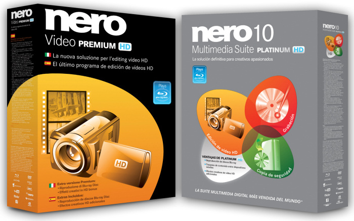 Nero Multimedia Suite 10 Platinum HD y Nero Video Premium HD, Imagen 1