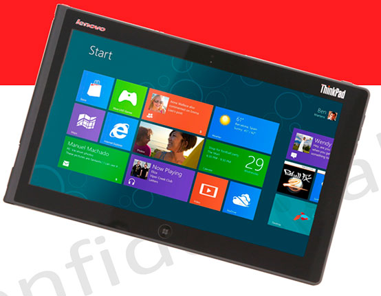 Filtrado un tablet de Lenovo con Windows 8, Imagen 1