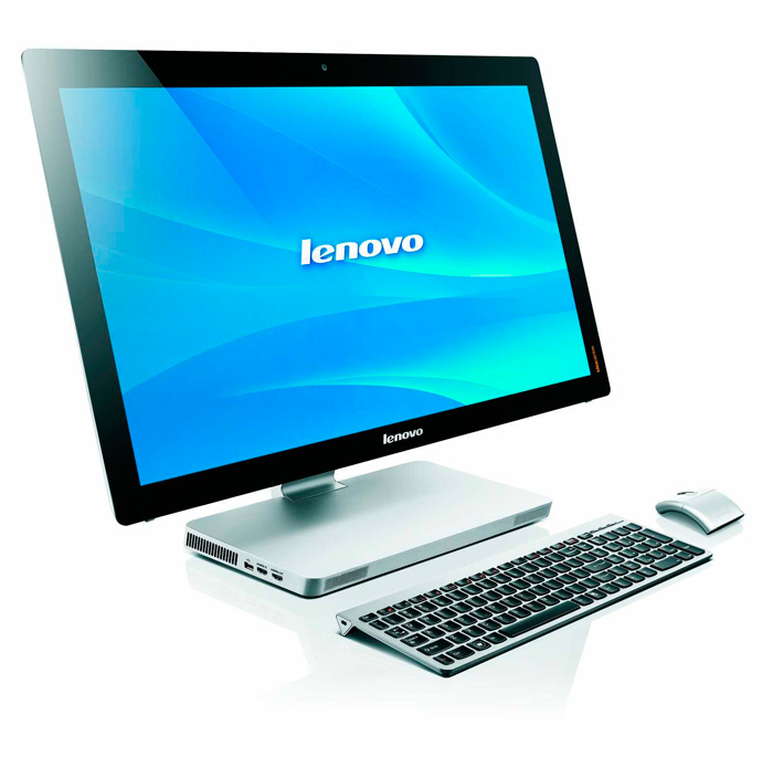 Lenovo IdeaCentre A730, un All in One ultrafino, Imagen 1