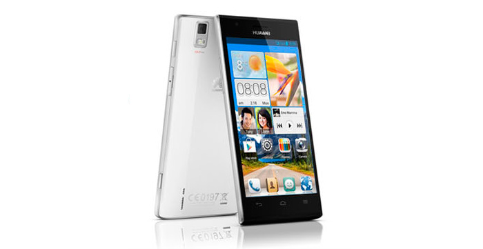 MWC 2013. Huawei Ascend P2, Imagen 1