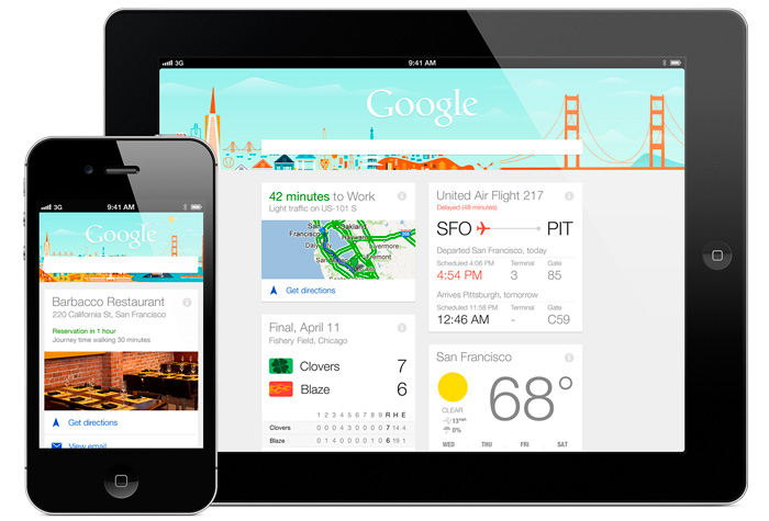 Google Now, el asistente de b�squedas de Google, ya disponible para iPhone, Imagen 1