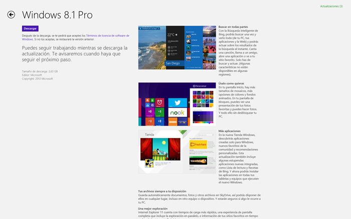 Windows 8.1 ya disponible de manera oficial, Imagen 1