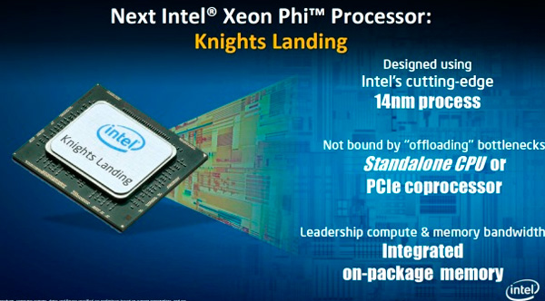 El co-procesador Intel Xeon Phi Knights Landing estará disponible en formato Socket , Imagen 1