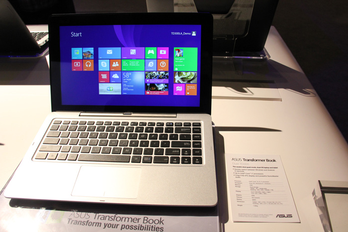 ASUS Transformer Book Duet TD300, tablet convertible con ...
