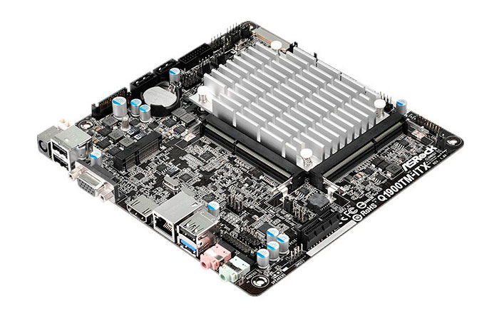 ASRock Q1900TM-ITX, placa base ITX con SoC integrado, Imagen 1