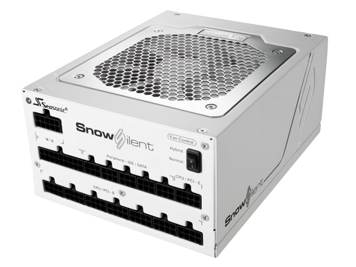 Seasonic Snow Silent, 1050W de potencia en color blanco, Imagen 1