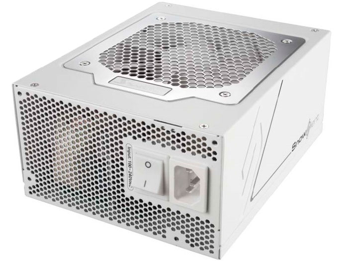 Seasonic Snow Silent, 1050W de potencia en color blanco, Imagen 2