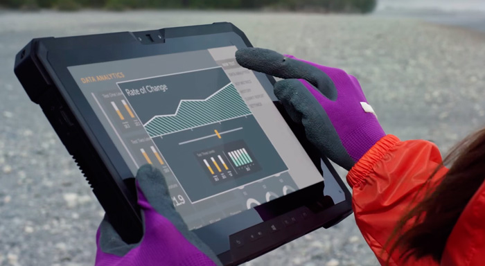 Dell presenta su resistente Latitude 12 Rugged Tablet, Imagen 1