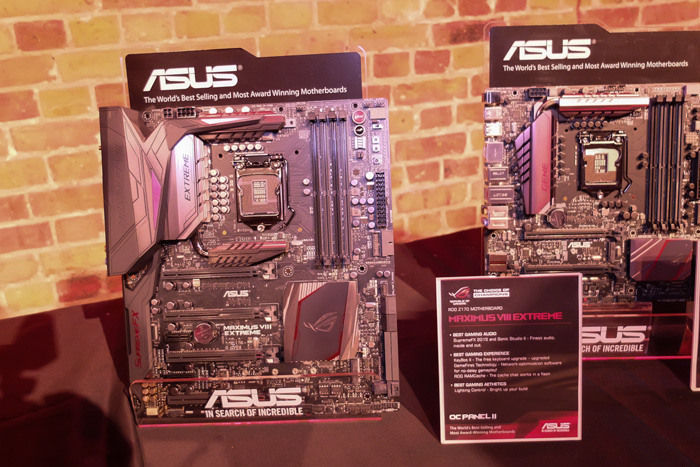 ASUS lanza sus placas base Republic Of Gamers MAXIMUS VIII Z170, Imagen 1