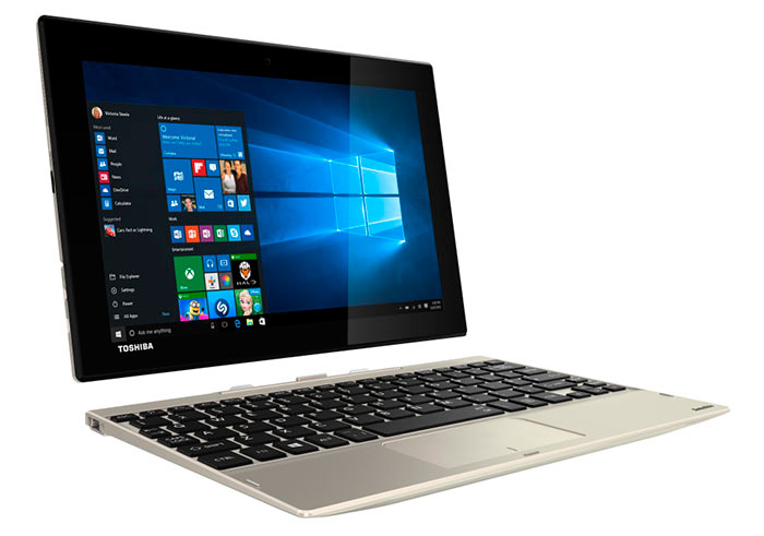 Toshiba lanza el tablet convertible Satellite Click 10 con Windows 10, Imagen 1