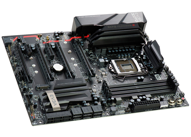EVGA Z170 Classified-K, Imagen 1
