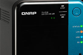 NAS Qnap TS-253B con QTS-Linux y Media Player