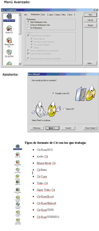 Software para Grabar CD�s, 3